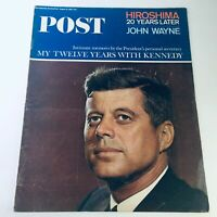 VTG The Saturday Evening Post August 14 1965 - My 12 Years with John F. Kennedy