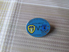LEEDS United v EVERTON 2012 Capital One Cup FOOTBALL Pin Badge