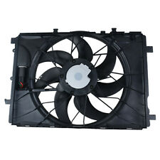 600W Radiator Cooling Fan Assembly for Mercedes-Benz C250 C300 E350 E500 GLK350