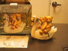 Cherished Teddies ` Swan Ride limited production to 1999 476781