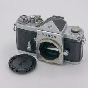 Nikon F Silber + Standard Eye-Level Viewfinder 35mm Film Analog Kamera