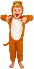 Kids Childs Girls Boys Zoo Toddler Safari Animal Lion Fancy Dress up Costume