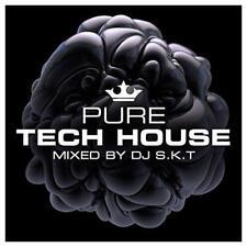 Pure Tech House - Mixed By DJ S.K.T - DJ S.K.T Various (NEW 3CD)