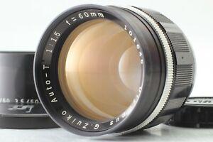 "Rare ""Near MINT+++"" Olympus G Zuiko Auto T 60mm f/1.5 Lens for Pen F FT FV Japan"