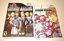TRAUMA CENTER: SECOND OPINION Game Wii or WiiU Games Nintendo U ATLUS