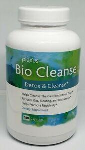 Plexus Slim Bio Cleanse Detox New sealed 180 capsules Expires 10/22 *Free Ship*