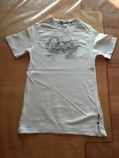 T Shirt Shirt Pulli von Pampolina PL.05 in Größe 134 in weiß rose mit Frontdruck