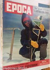 EPOCA 14 settembre 1958 Spedizione Cassin Gasherbrum Sophia Loren Ogino Knaus di