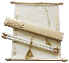 scroll wedding invitation, wedding scrolls,S865