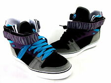 "OSIRIS MEN'S RHYME REMIX SKATE SHOE BLACK US SIZE LEFT 8.5/RIGHT 7.5 ""MISMATCH"""