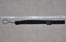 BLACK ADJUSTABLE WRIST STRAP LANYARDS WITH SLIDER LOCK FOR  DIGITAL CAMERA*V18**