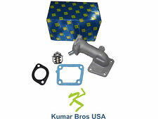 New Kumar Bros USA Water Flange & Thermostat with Gaskets For Bobcat 743