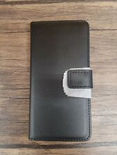 Phone Case for Huawei P20 Lite, Wallet Case, Black [H138]