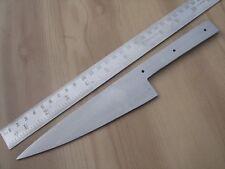 "10"" custom made big spring steel special design chief knife blank blade S"