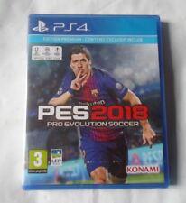 PES 18 Pro Evolution Soccer 2018 PS4 -Edition Premium - Contenu exclusif inclus