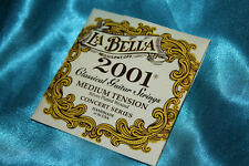 La Bella 2001 Medium Tension Concert Series Classical, L2001M