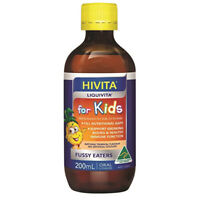 Hivita Liquivita for Kids (Liquid Multi) 200ml Vitamin B Complex