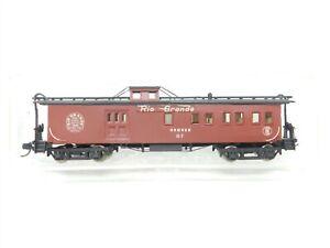 N Scale D&RGW Denver & Rio Grande Western Drover Passenger Caboose #07 - Custom