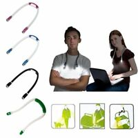 Creative Huglight Hand Free LED Flexible Light Over Neck Book Reading Lamp