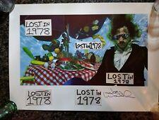 Eagles Joe Walsh Signed Autograph Seriously Folks Poster Record Lp Glenn Frey
