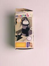 New Munchkin Travel Car Baby Bottle Warmer Grey Portable Infant Auto Heater Fs