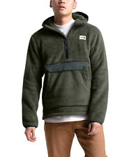 The North Face Campshire Pullover Hoodie Sherpa Fleece Green Size Large $149