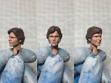 """Painted Service 1/12 Han Solo Harrison Ford Star Wars Head Sculpt 6"""" Figure SHF"""