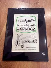 VESPA Vintage Original 1956 GS150 DOUGLAS 125 Advert PIAGGIO SCOOTER MODS London