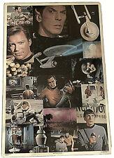 Vintage 1976 Star Trek The Original Series Collage Poster