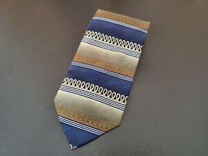Mosaic Men's 100% Silk Striped Neck Tie