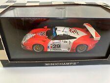 Minichamps 1/43 Porsche 911 GT1 24H Mans 1997 N°29 JB Racing