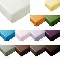 CLEARANCE PRICE Polyester Cotton 33cm Wall FITTED Sheet - DOUBLE