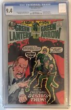 GREEN LANTERN #83 - CGC 9.4 -  BLACK CANARY APPEARS - OW/W PAGES