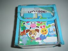 Baby Einstein My First Library Collection 4 Board Books with Carry Case New
