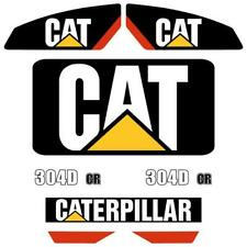 CAT 304D CR Decals , repro decal sticker set