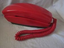 "Automatic Electric/GTE RED Rotary Dial ""Styleline"" Telephone"