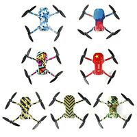 DIY Drone Protective Skin Stickers Decals For DJI Mavic Mini 2 Drone Accessories