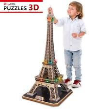 Puzzle Cubic Fun 82 Teile - Puzzle 3D mit LED - Eiffelturm, Paris... (45646)