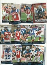 2015 UD CFL Woods allstar + offence team set Montreal alouettes 12 CARD LOT