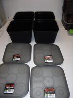 PRESTON BAIT BOXES X4 3 PINT