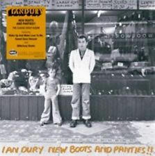 IAN DURY - NEW BOOTS AND PANTIES!! USED - VERY GOOD CD