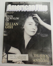 American Film Magazine Kevin Brownlow On Lillian Gish March 1984 050515R
