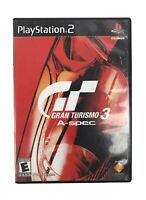 2001 PS2 Gran Turismo 3 A-Spec Playstation 2 Complete w/Manual Exc Condition