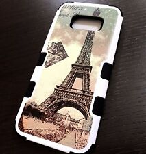 Samsung Galaxy S8+ PLUS - Hybrid Shockproof Armor Phone Case Paris Eiffel Tower