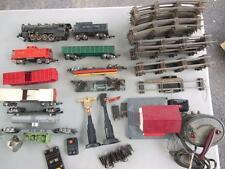 1951 AMERICAN FLYER 342 AC LOCO TRAIN SET W/ LIONEL WHISTLE STATION S TRACK CARS