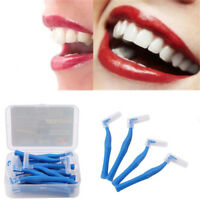 20X/Set Interdental Brush Toothbrushes Oral Care Soft 0.7mm Blue New Supply HS