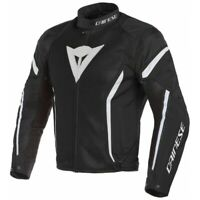 Giubbotto moto estivo Dainese Air Crono 2 Tex Black white