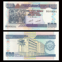 Burundi 500 Francs Banknote, 2011, P-45b, UNC, Africa Paper Money