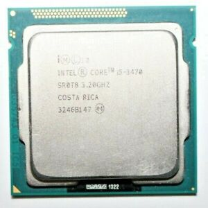 Intel Core i5-3470 SR0T8 3.20GHz Desktop Processor CPU