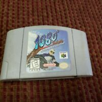 1080° Snowboarding (N64, Nintendo, 1998) Tested Authentic